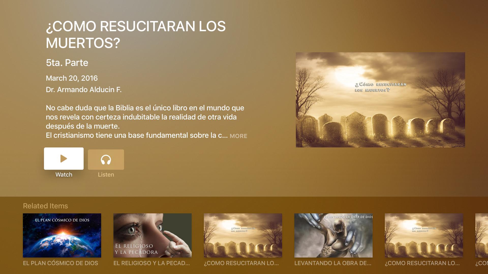VIDA NUEVA PARA EL MUNDO screenshot 9