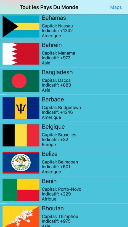 Tout Les Pays Du Monde