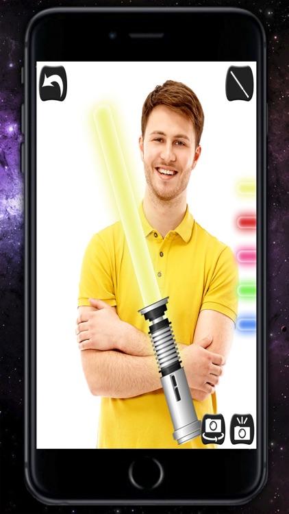 Jedi Lightsaber - Laser sword with sound effects screenshot-3