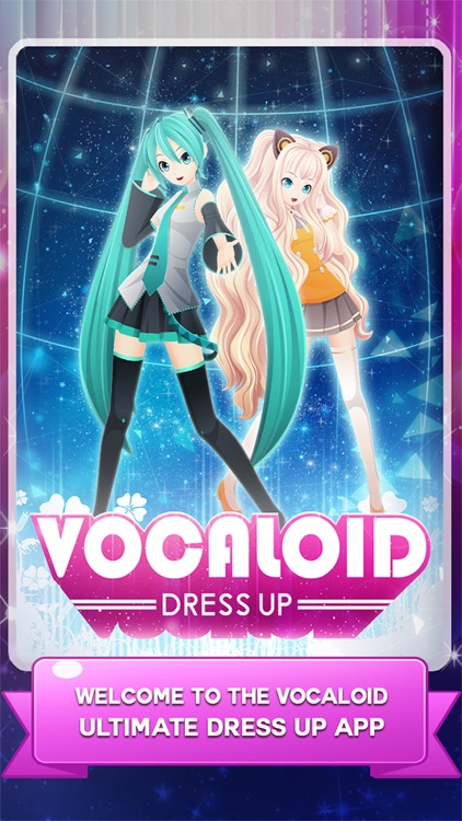 "Dress-up "" DIVA Vocaloid "" The Hatsune miku and rika and Rin salon and make up anime games"