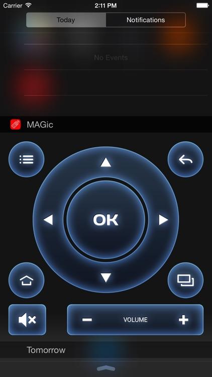 MAGic Remote - TV remote control screenshot-3
