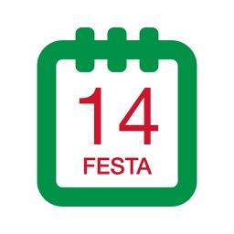 Festività Calendario Italia 2016 - Festa nazionale e giorno festivo prescritto dalla legge lunario