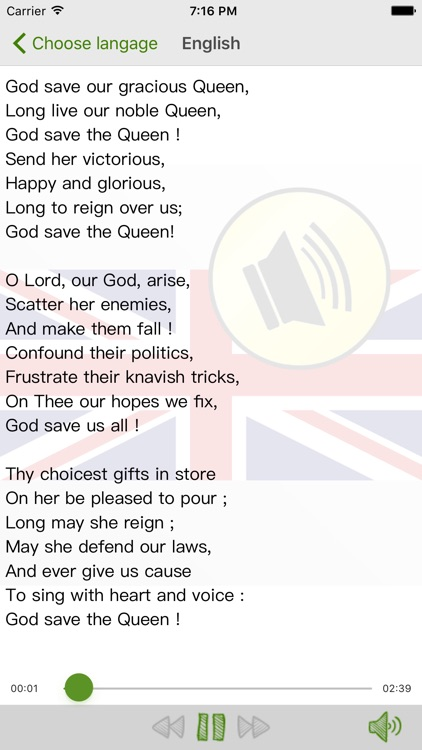 Listen God Save The Queen
