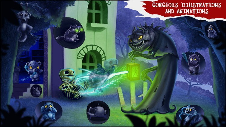 Amelia and Terror of the Night LITE - Story Book for Kids screenshot-3