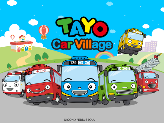 Tayo Car Village-ipad-0