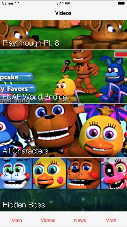 Cheats for FNAF World - Unlock every ending and beat the game with ease! screenshot-3