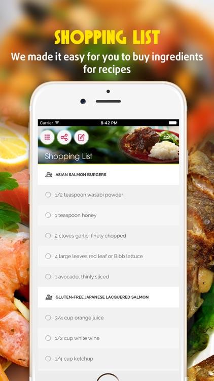 Yummy Fish & Seafood Recipes Pro