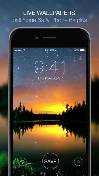 Live Wallpapers For Iphone 6s Animated Themes And Custom Dynamic Backgrounds App Price Drops