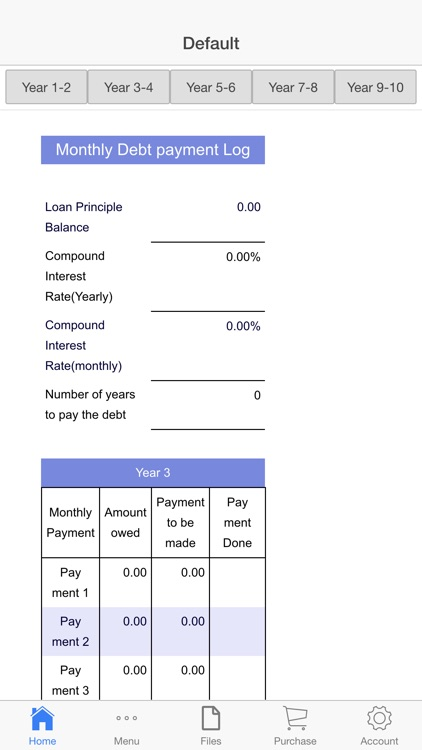 Debt Payoff screenshot-1