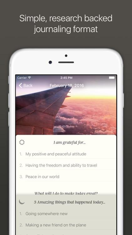 Five Minute Journal screenshot-0