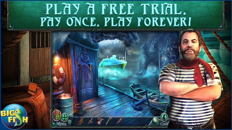 Rite of Passage: The Lost Tides - A Mystery Hidden Object Adventure screenshot-0