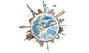 World - Time - Clock - FREE