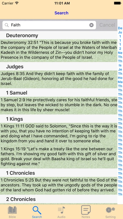 The Message Audio Bible offline scriptures screenshot-3