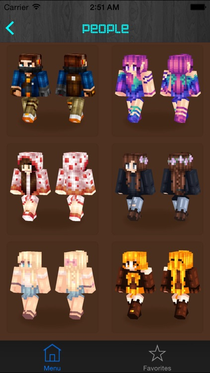 Free Skins for Minecraft PE (Pocket Edition)- Newest Skins app for MCPE