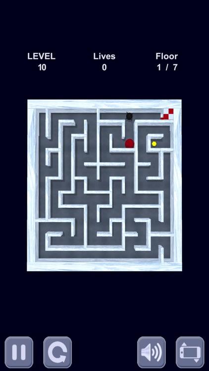 Ice cube. Labyrinth 3D screenshot-3