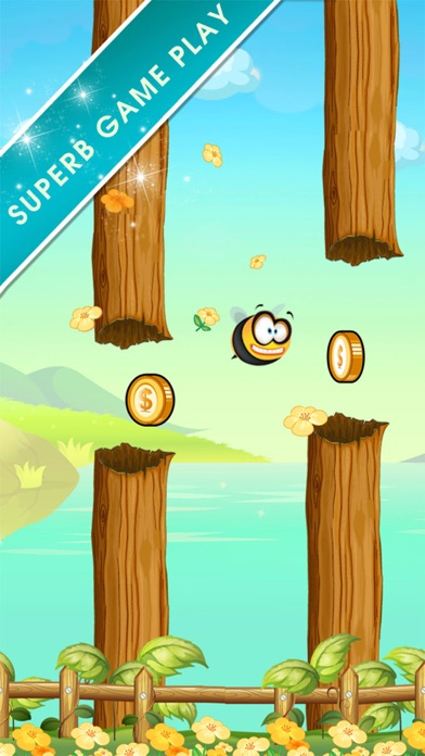 Flappy Bumbee - Honey Bumble Swarm-1