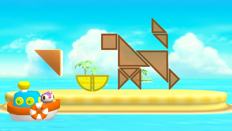 Shapes Builder - Educational tangram puzzle game for preschool children by Play Toddlers screenshot-4