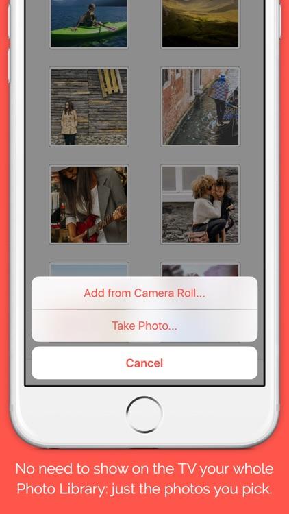 TV Carousel — Send photos to your TV screenshot-3