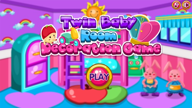 Twin baby room decoration game dans l app store for Baby room decoration games