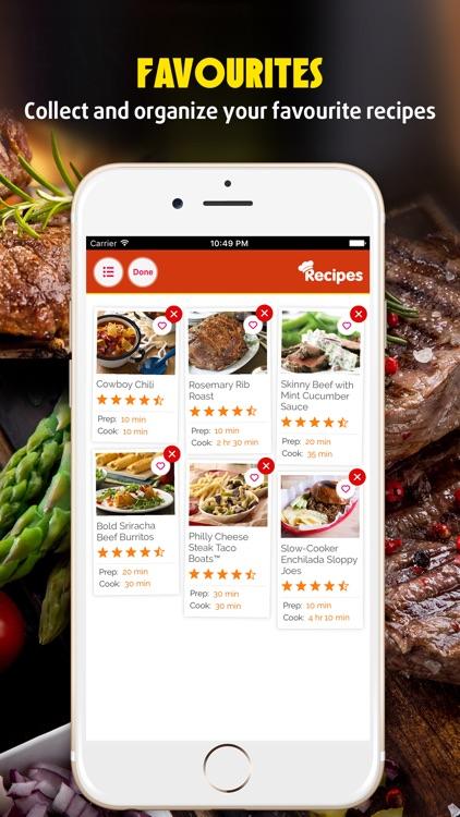 Yummy Beef Recipes Pro screenshot-3