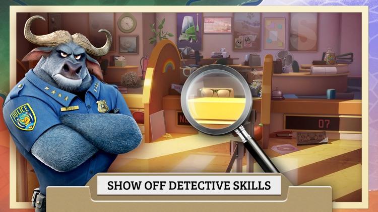Zootopia Crime Files: Hidden Object screenshot-3
