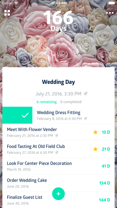 To:Day - Event planner, to-do list, date countdown & task manager screenshot