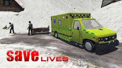スノーレスキュー911 - 緊急救急車運転シミュレータのおすすめ画像3