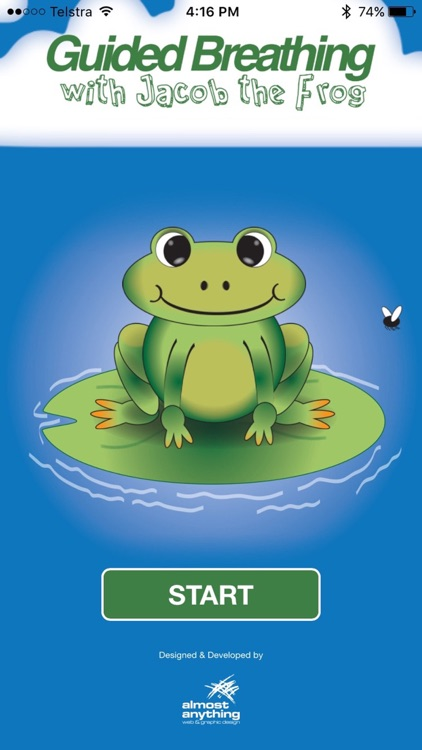 Guided Breathing with Jacob the Frog