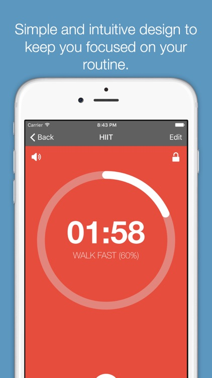 Timerly - Interval Timer for HIIT, Workouts, Tabata, and more!