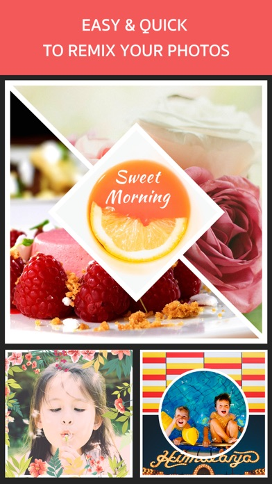 Photo Frame Editor – Perfect Picture Grid Maker screenshot one