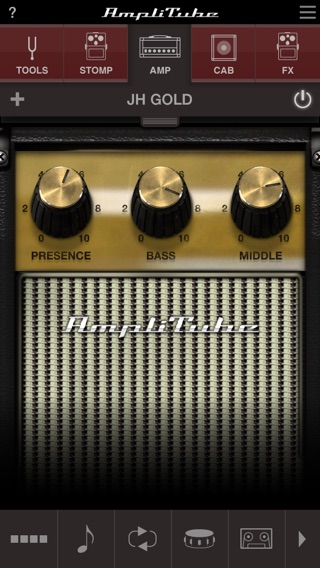 AmpliTube Jimi Hendrix™ Screenshot