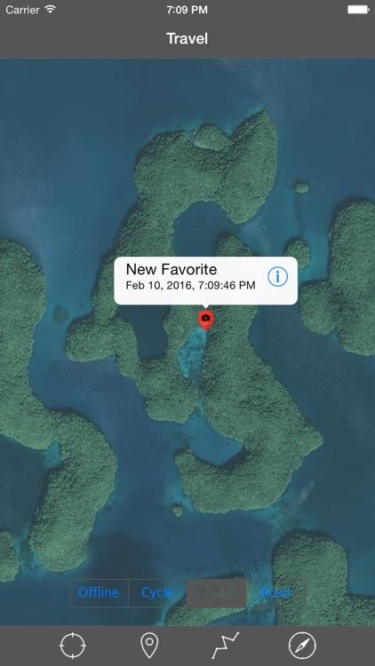 PALAU ISLANDS – GPS Travel Map Offline Navigator