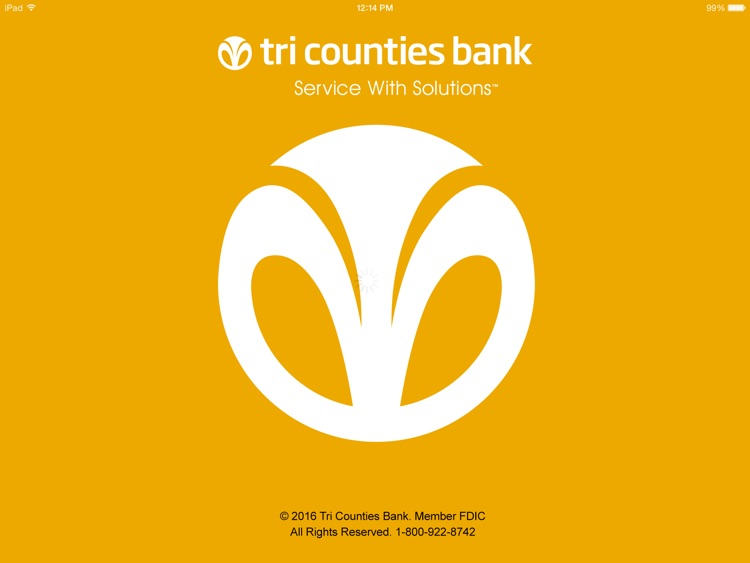 Tri Counties Mobile Banking for iPad