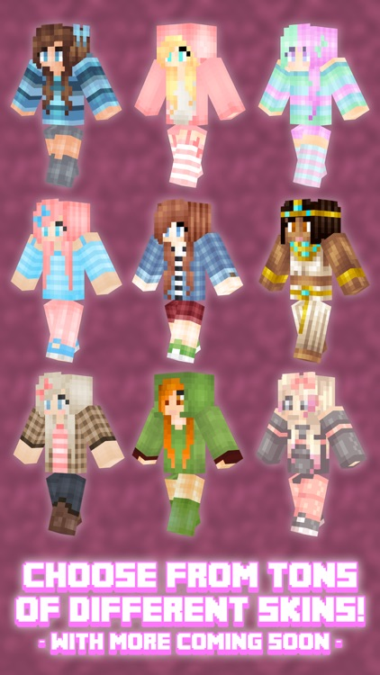 Girl Skins for Minecraft PE (Girl Skins Minecraft PE)