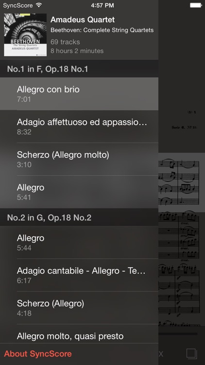 Beethoven All String Quartets screenshot-2