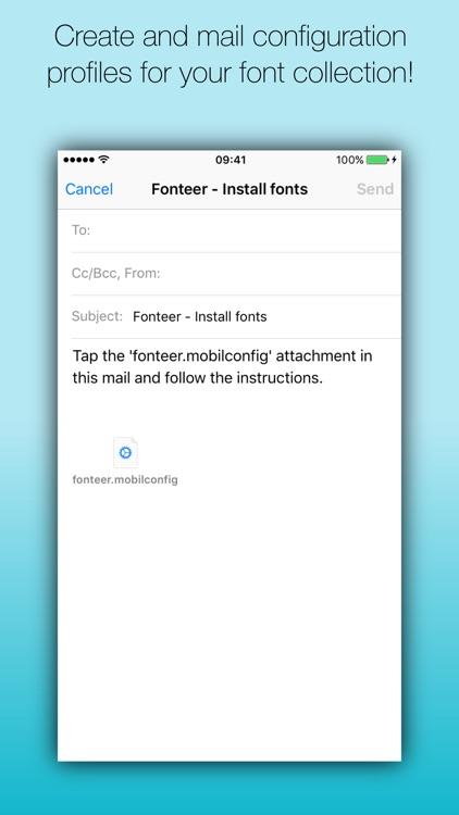 Fonteer - Install fonts (Premium)