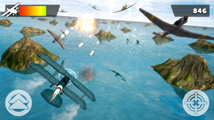 World of War | Fight the Enemy Airplane For a Free Flight screenshot-4