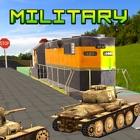 Military Tank Transport Train icon