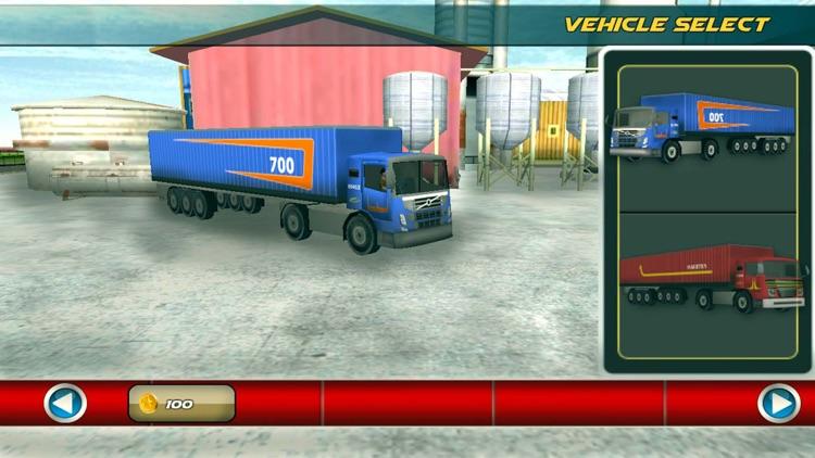 18 Wheeler Truck Simulator 3D screenshot-3