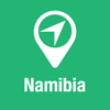 BigGuide Namibia Map + Ultimate Tourist Guide and Offline Voice Navigator