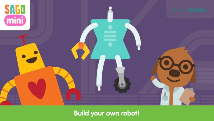 Sago Mini Robot Party Screenshot
