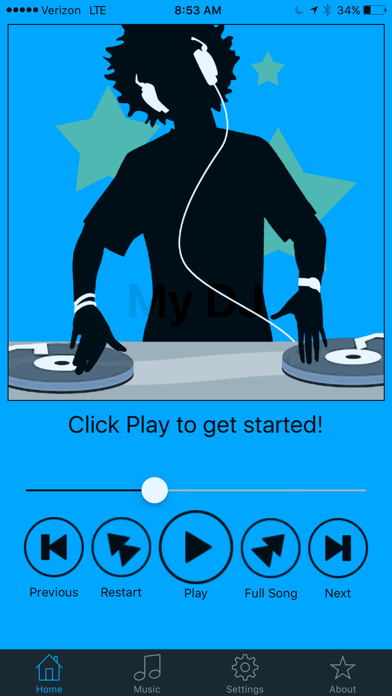 My DJ - Crossfade for iPhone by Scott Bedwell (iOS, United