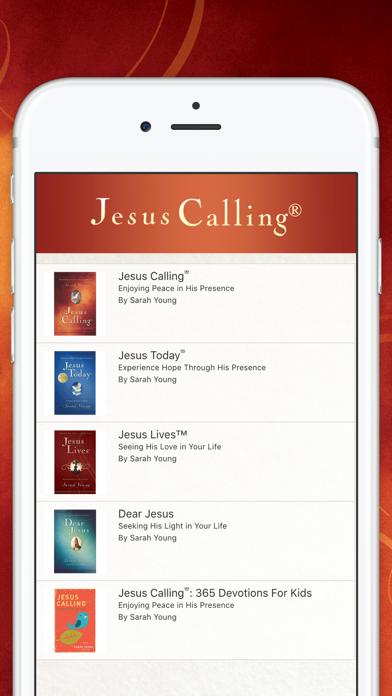 Jesus Calling Devotional Screenshot