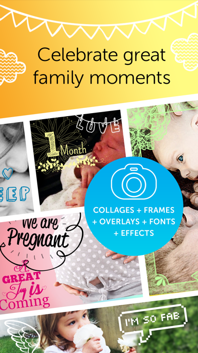 Baby Photo Editor FREE - Pregnancy & Baby Milestone pics