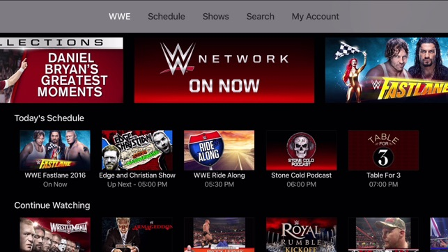 download wwe network app for android