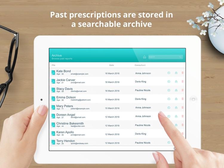 Spascribe - skincare prescription pad with eCommerce integration for aesthetics clinics, spas, beauty salons & cosmetics shops screenshot-3