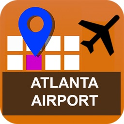 Atlanta Airport Map - ATL