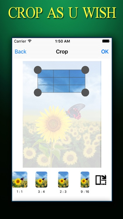 CROP PHOTO ++ Crop Photos Instantly With Effects Editing Tools