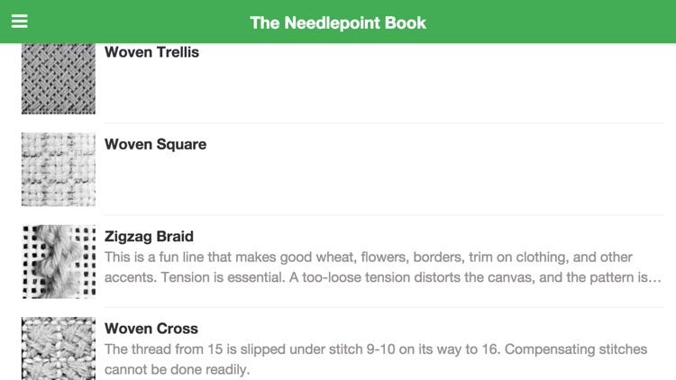 The Needlepoint Book App