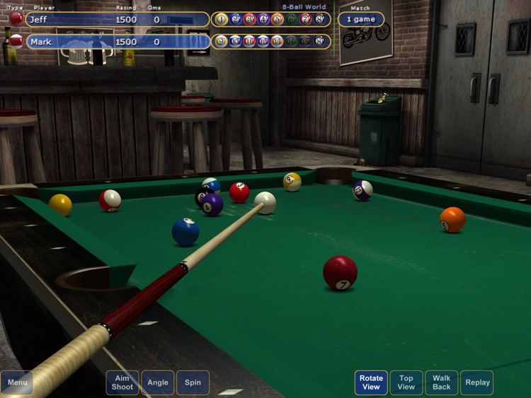 Virtual Pool 4 screenshot-1